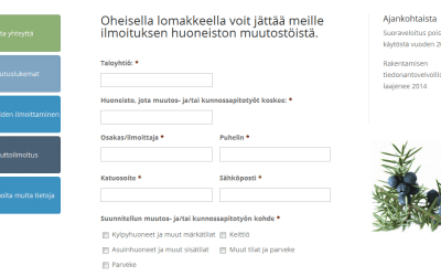 Tilitoimisto K.Katajamäki Ky hyödyntää älykkäitä lomakkeita verkkopalvelussa