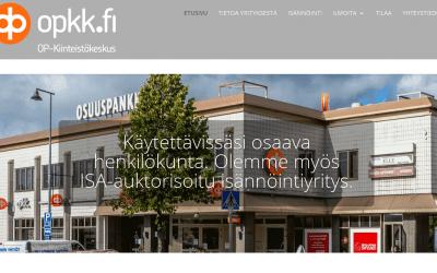 Mäntsälän OP-Kiinteistökeskus Oy:lle uusi älykkäitä lomakkeita hyödyntävä verkkopalvelu.