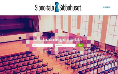 Sipootalo.fi -palvelu avattiin tänään