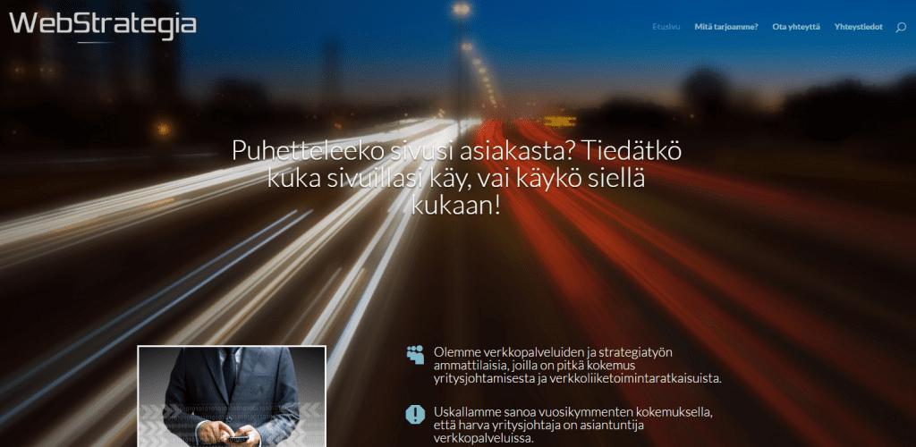 Webstrategiaetusivu