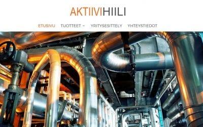 Aktiivihiilen uudet verkkosivut on avattu osoitteeseen www.aktiivihiili.fi