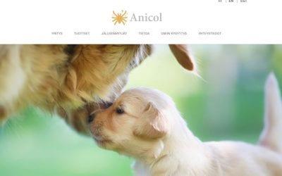 Anicol Oy:lle uusitut kotisivut
