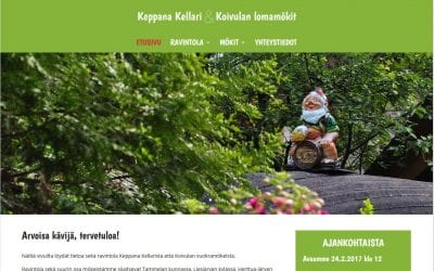 Keppana Kellarin uudistetut kotisivut avattiin
