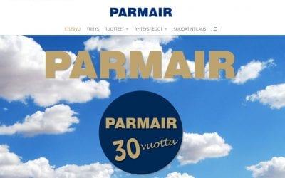 30-vuotiaalle Parmairille uudet kotisivut