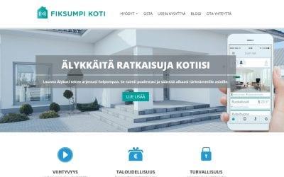 Uudet kotisivut Fiksumpikoti.fi -palvelulle