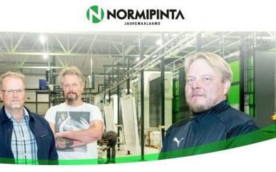 Jauhemaalaamo Normipinta Oy:lle uudet kotisivut