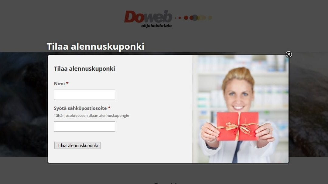 Houkuttele sivustollasi kävijät PopUp -mainoksilla ottamaan yhteyttä