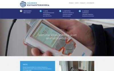 Hämeen Kuivaustekniikka Oy vaihtoi Dowebin julkaisujärjestelmään
