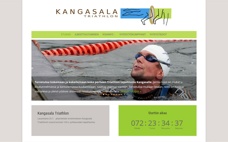 Kangasala Triathlon on tulossa uudelleen ensi kesänä.