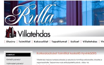 Hyvinkään Villatehdas Varauspalvelun asiakkaaksi….