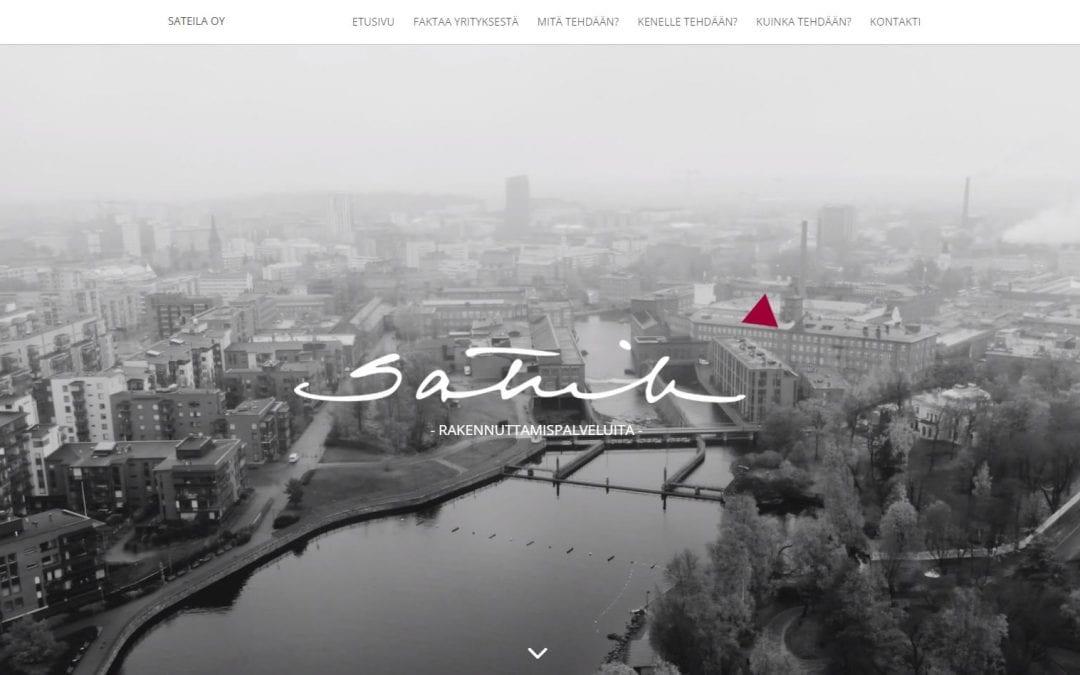 Insinööritoimisto Sateila Oy:n verkkopalvelu uusiutui