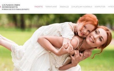 Lounais-Suomen Syöpäyhdistykselle uudet kotisivut